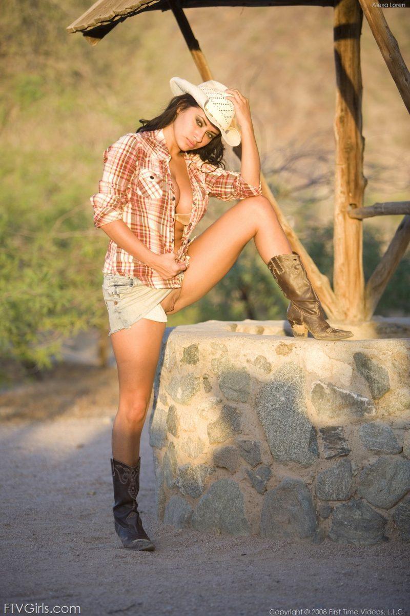 alexa loren busty cowgirl tits jeans skirt ftvgirls 13 800x1201