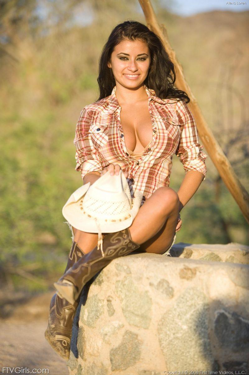 alexa loren busty cowgirl tits jeans skirt ftvgirls 15 800x1201