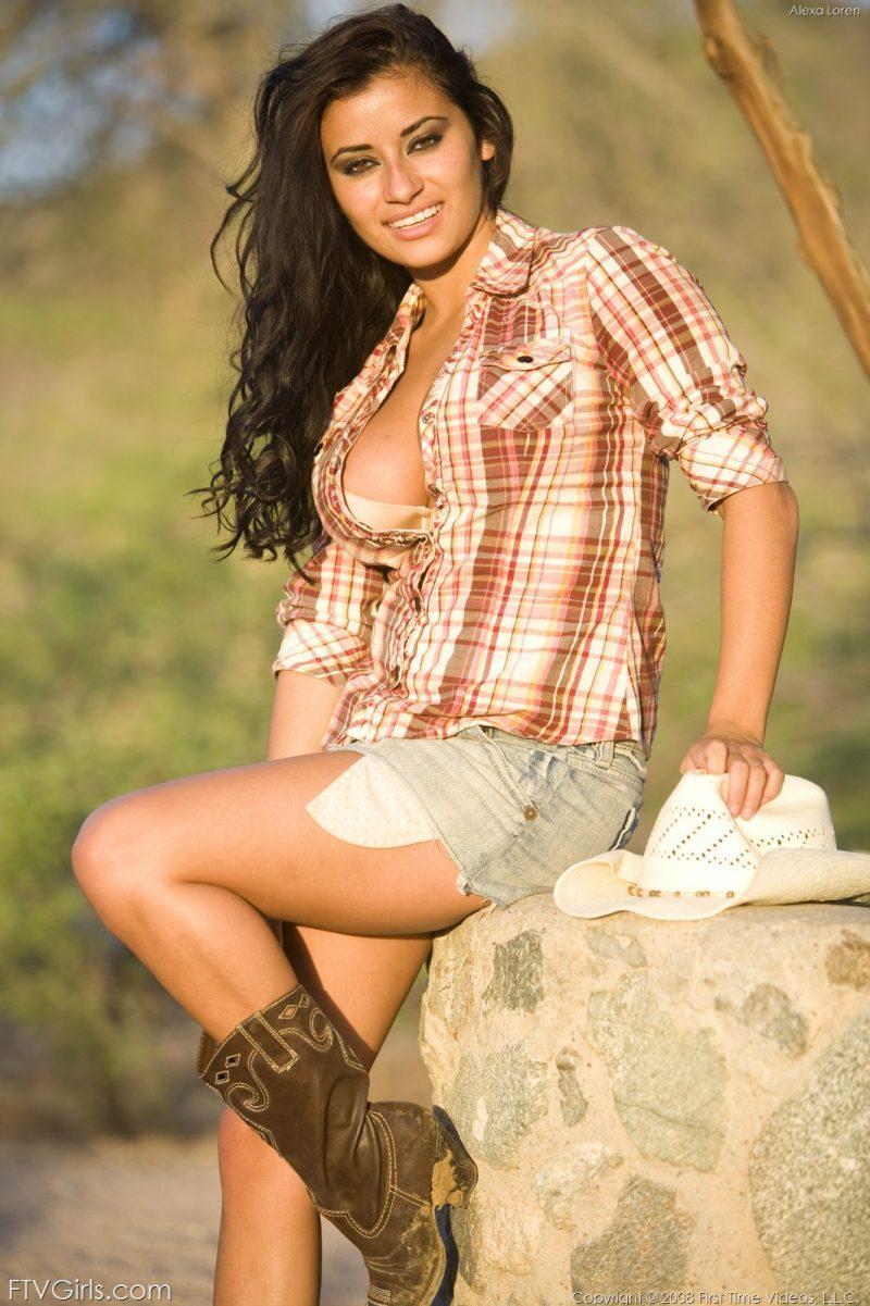 alexa loren busty cowgirl tits jeans skirt ftvgirls 16 800x1201