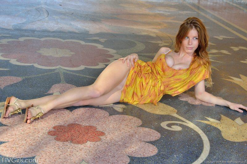 bethany bottomless public redhead naked ftvgirls 22 800x532