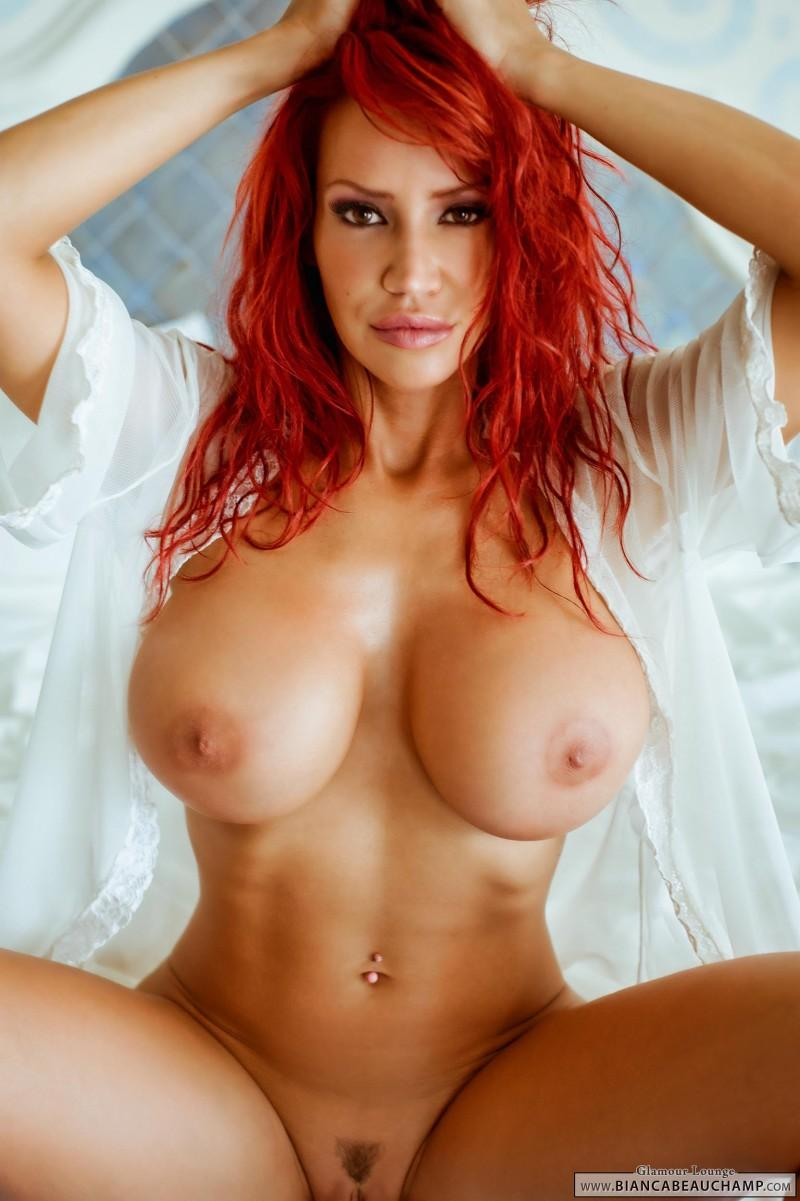 Hot Redhead With Big Tits
