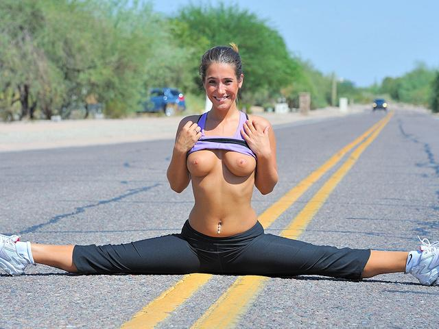 eva flash public jogging workout nude yoga ftvgirls