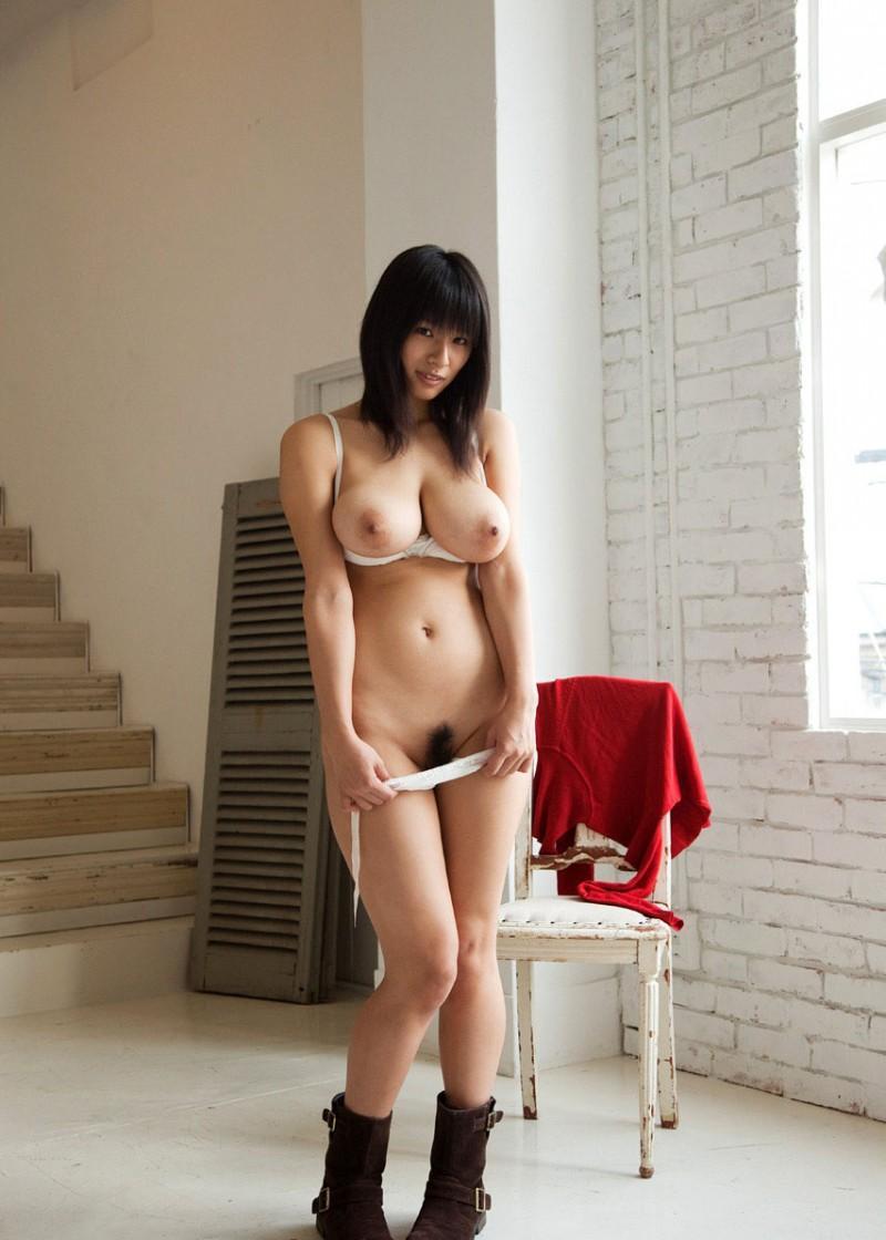 hana haruna red jumper busty asian nude 11 800x1120