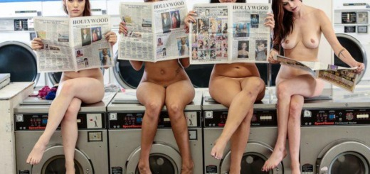 laundry girls nude washing machine photo mix 01 800x533