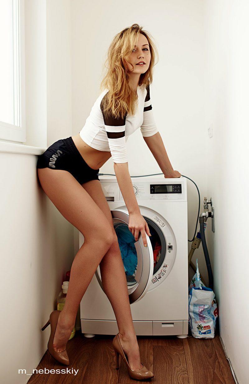 laundry girls nude washing machine photo mix 13 800x1233
