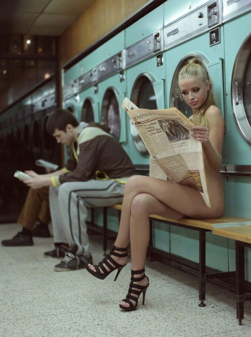 laundry girls nude washing machine photo mix 90 800x1074