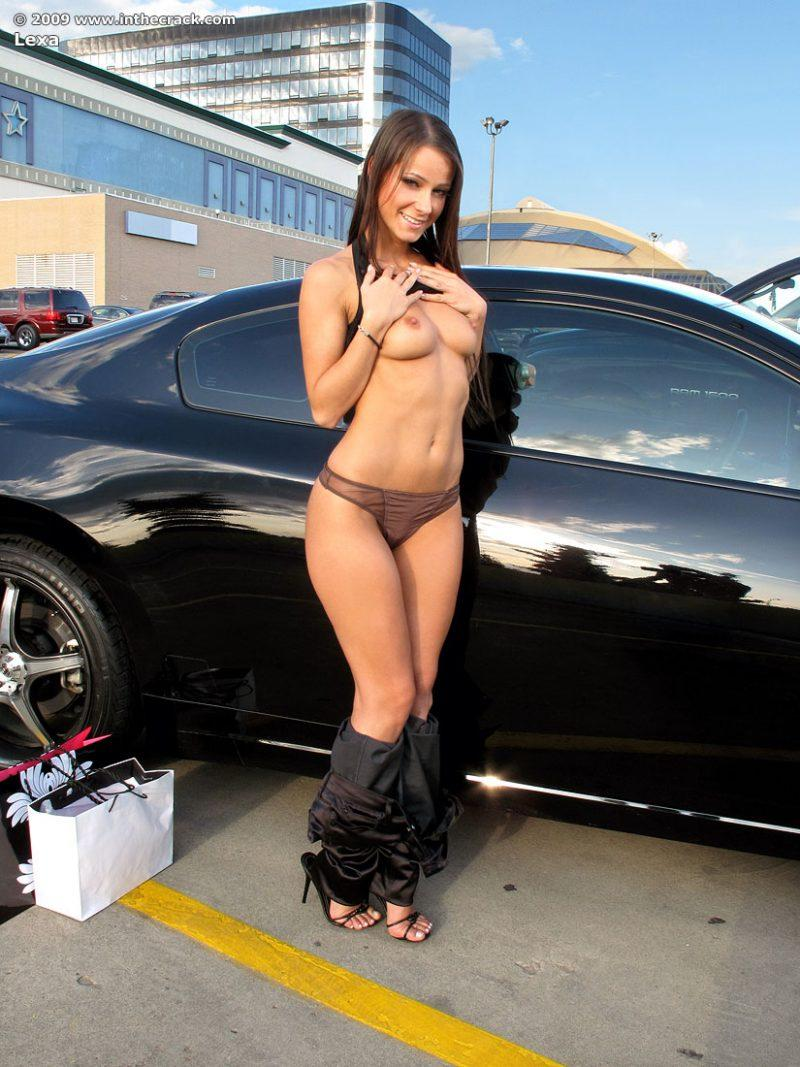 lexa parking nude public car inthecrack 07 800x1067