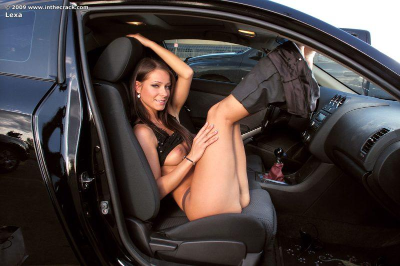 That interrupt inthecrack lexa nude in car consider