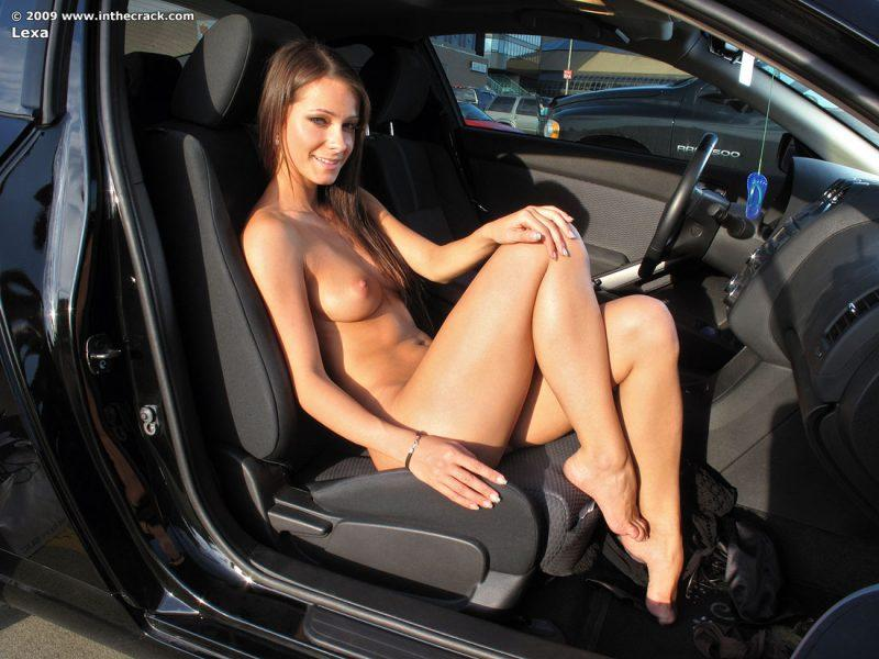 lexa parking nude public car inthecrack 12 800x600