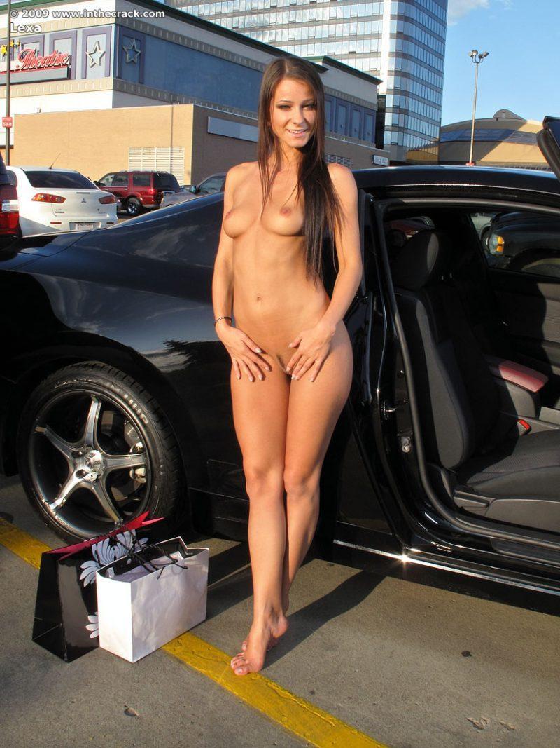 lexa parking nude public car inthecrack 15 800x1067