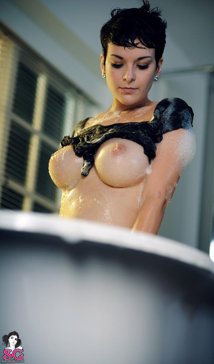 naked girls taking bath boobs wet mix vol4 34