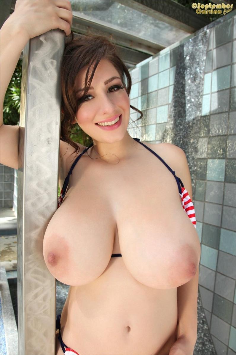 september carrino nude bikini 15
