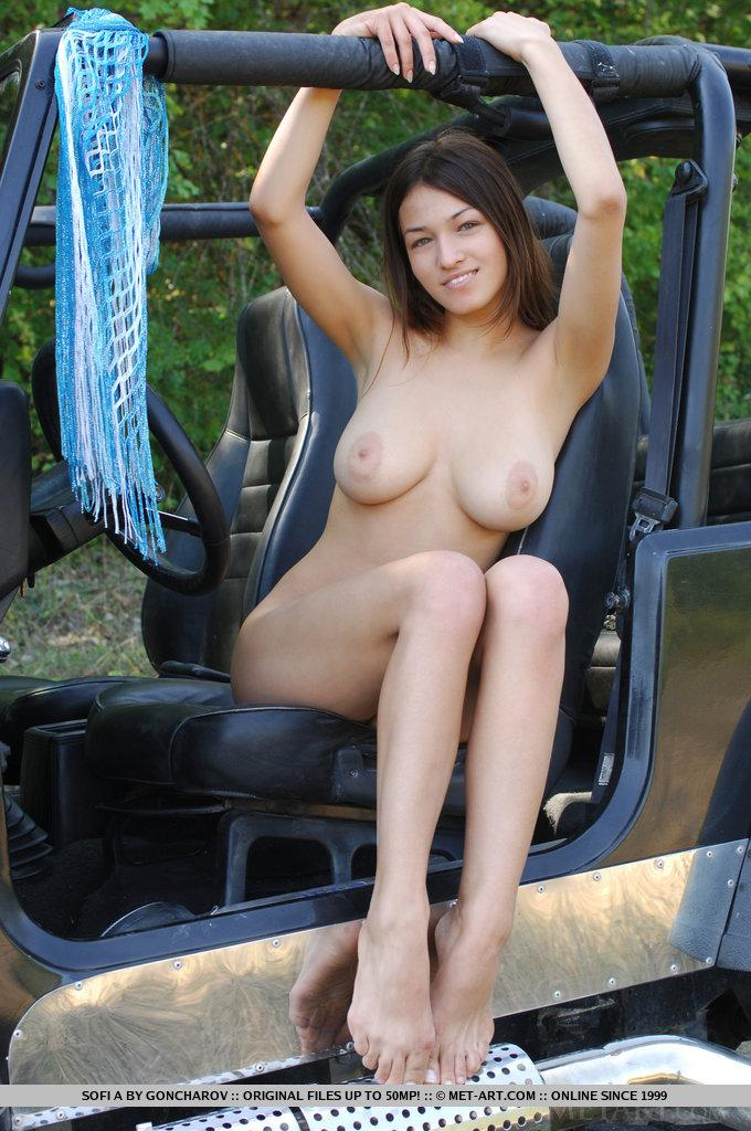Teens nude on jeeps there