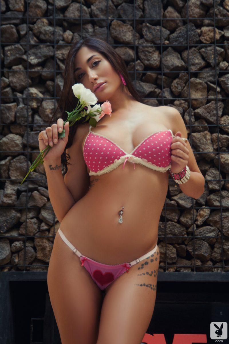 belen lavallen boobs ass naked pink heart playboy 07 800x1202