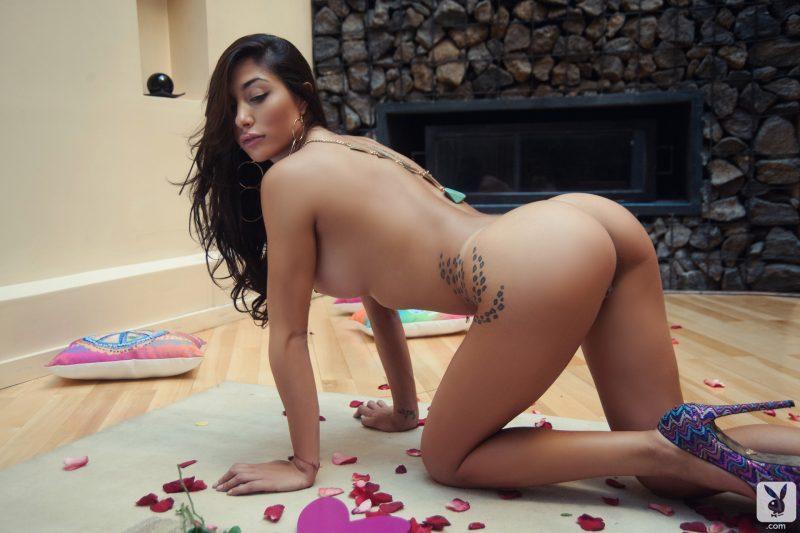 belen lavallen boobs ass naked pink heart playboy 27 800x533