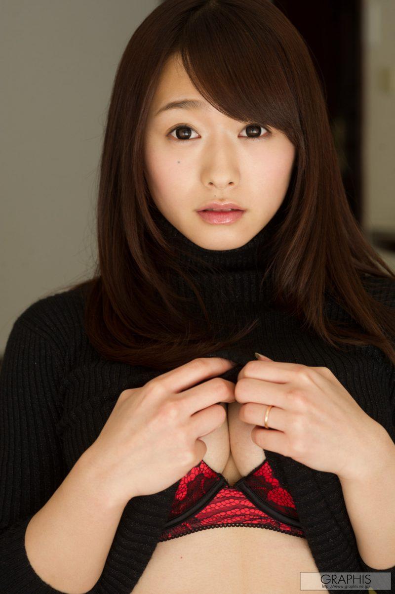 marina shiraishi japanese busty asian girl nude graphis 09 800x1202
