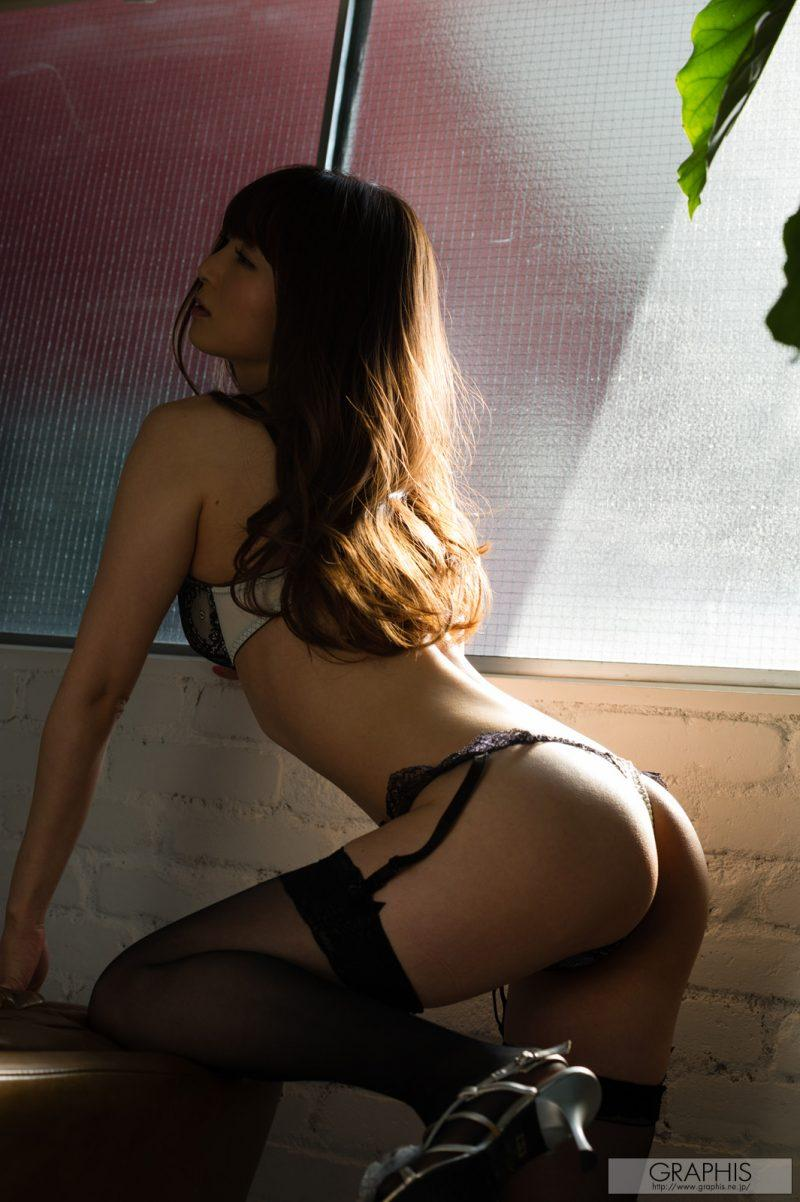 miku ohashi naked asian stockings garters graphis 04 800x1202