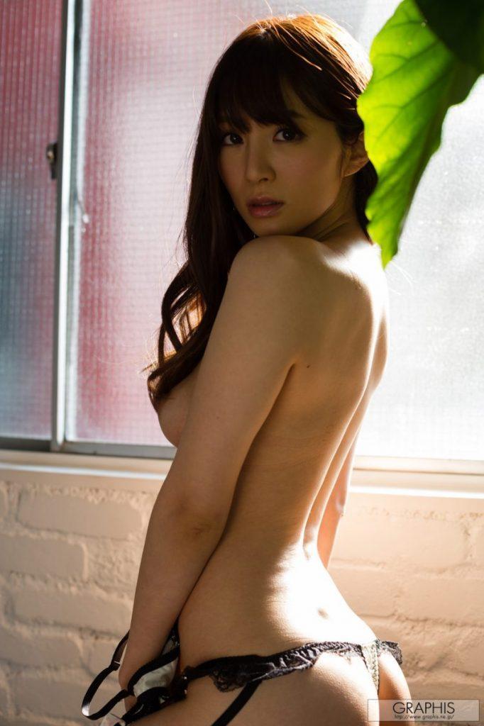 miku ohashi naked asian stockings garters graphis 07 800x1202