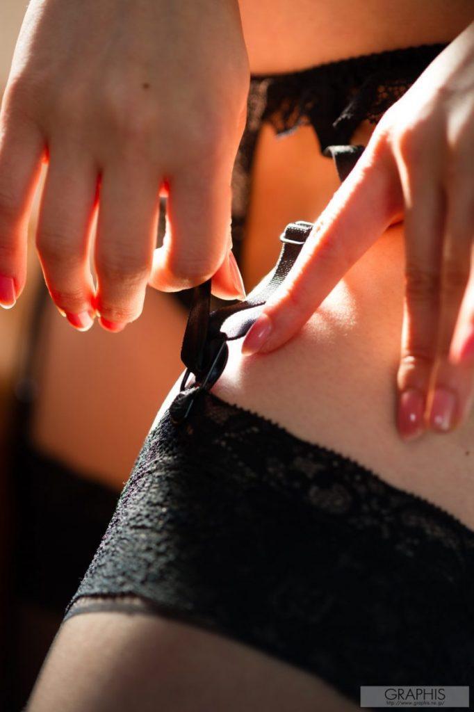 miku ohashi naked asian stockings garters graphis 13 800x1202
