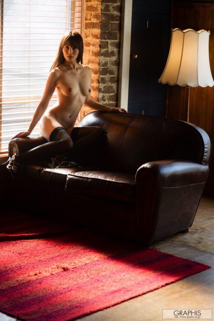 miku ohashi naked asian stockings garters graphis 28 800x1202