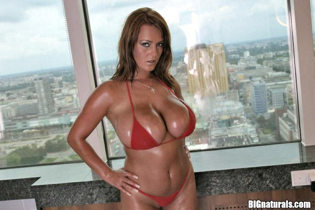 Bea big tits naked in public pity