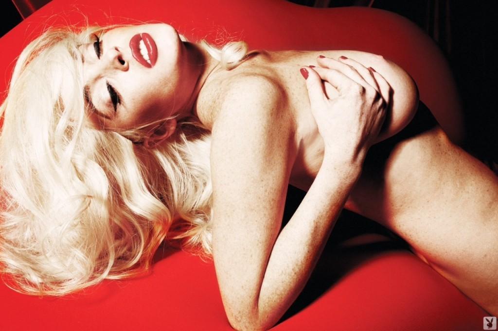 Lohan nude shoot