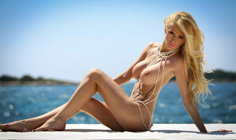 bozana vujinovic nude boobs blonde croatia playboy 03 800x475