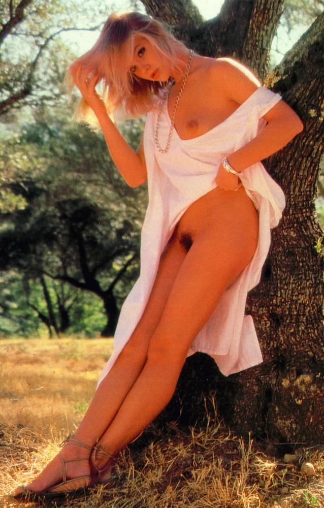 julie michelle mccullough blonde miss february 1986 vintage playboy 25
