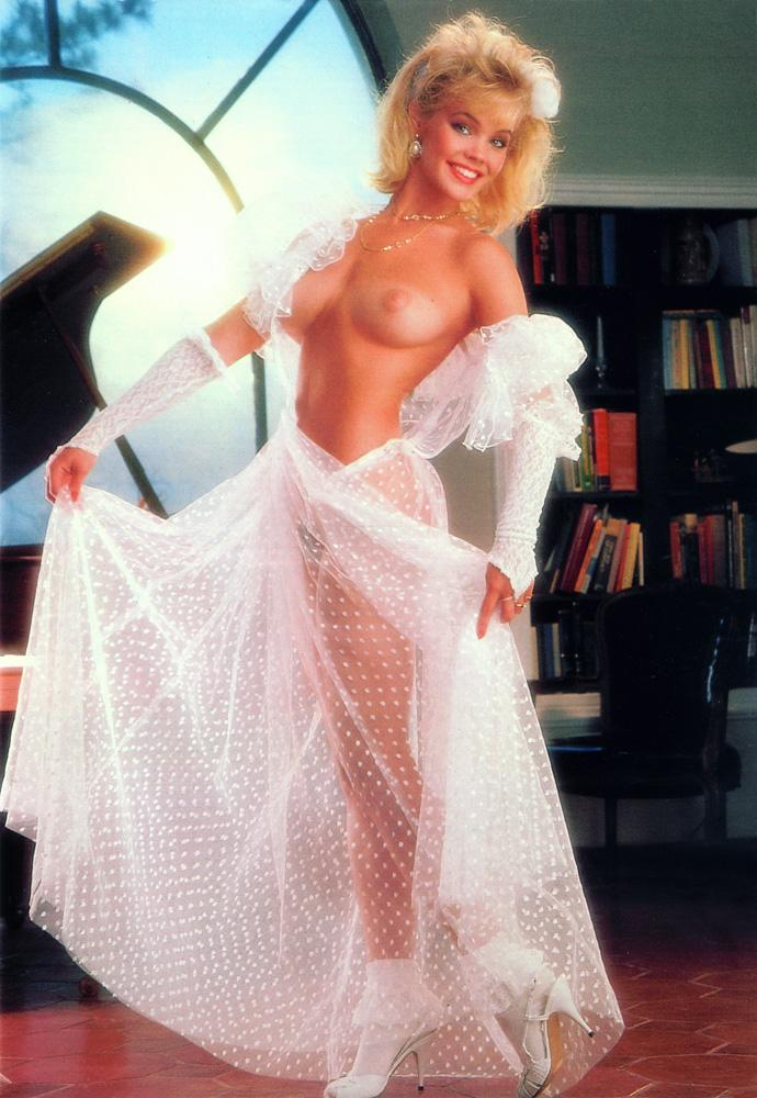 julie michelle mccullough blonde miss february 1986 vintage playboy 36
