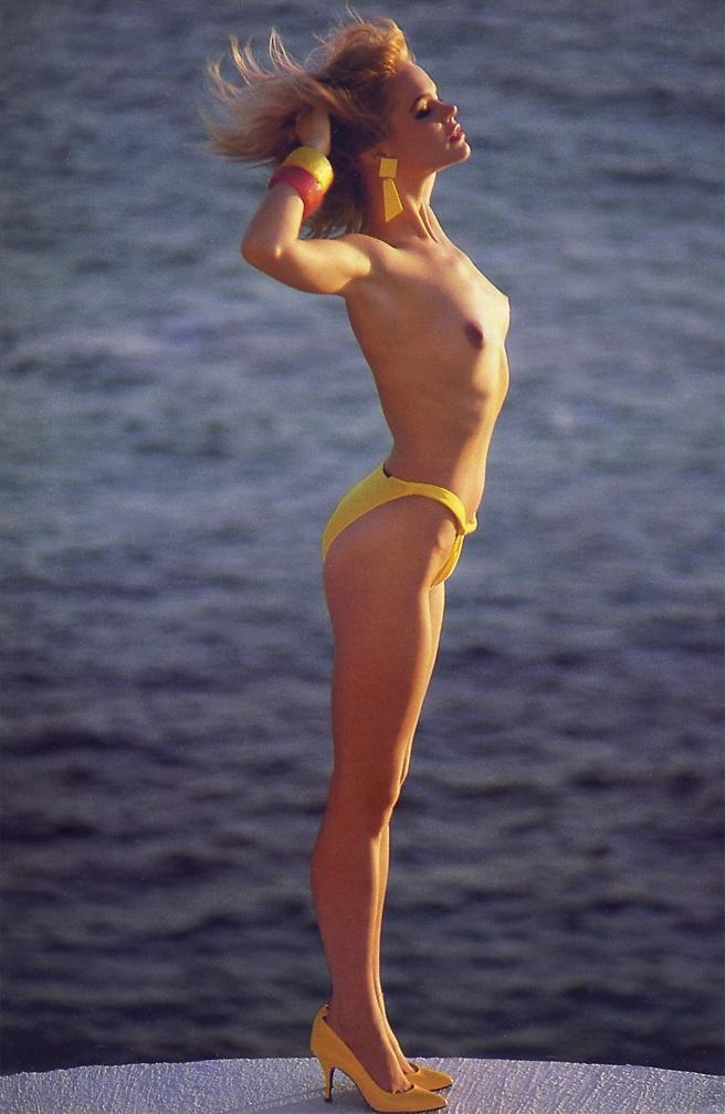 julie michelle mccullough blonde miss february 1986 vintage playboy 39