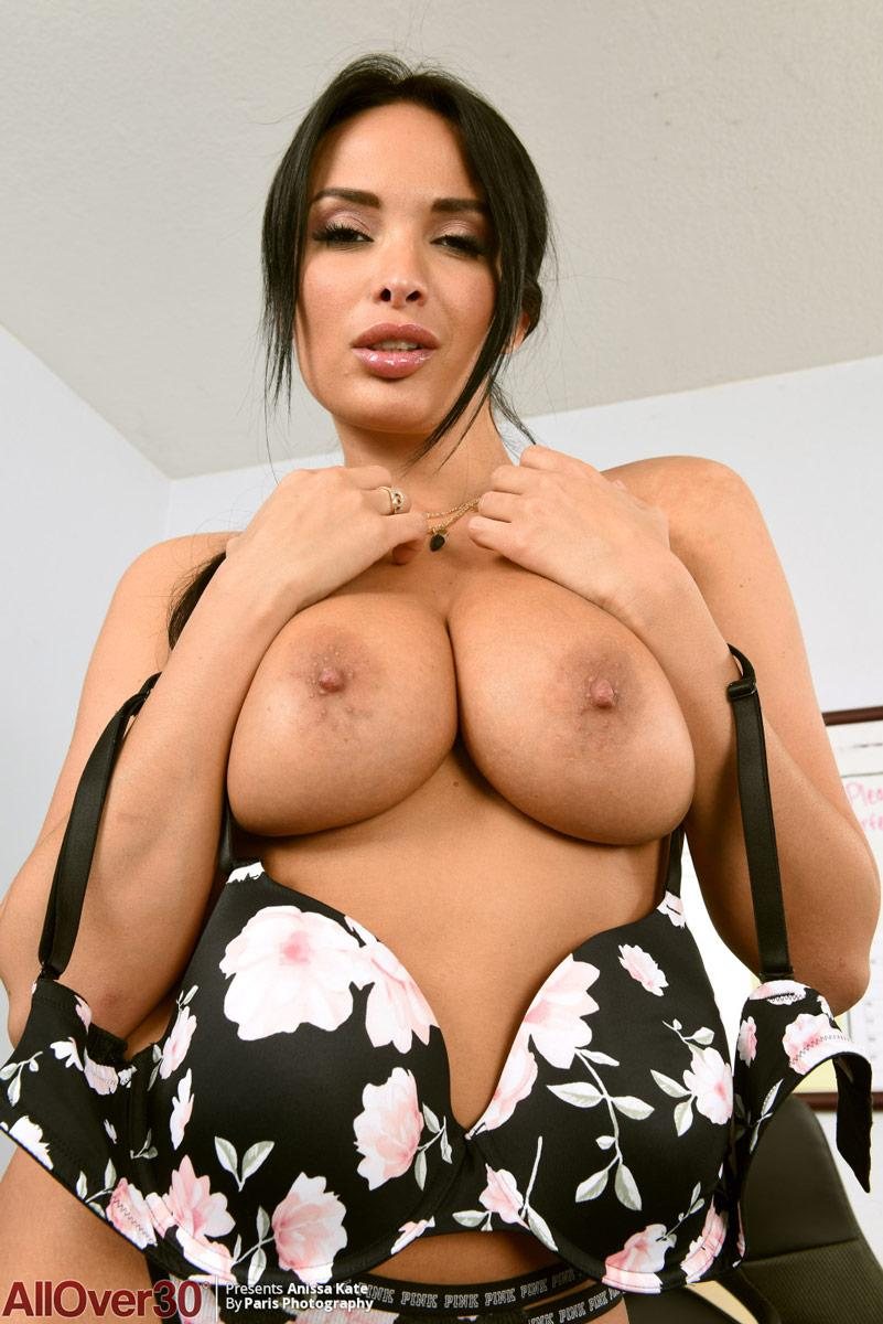 Anissa Kate Strips In Office Bod Girls