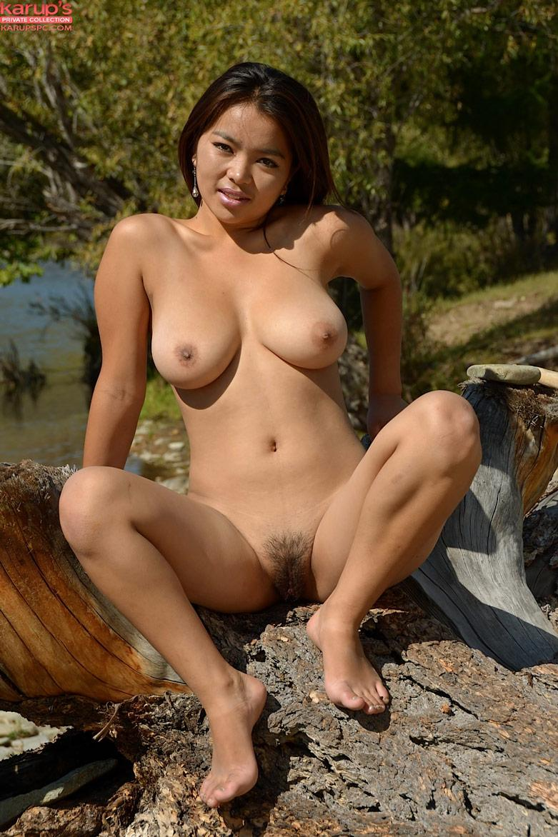 Naked Girl Lake