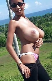 Petites and skinny girls with big tits