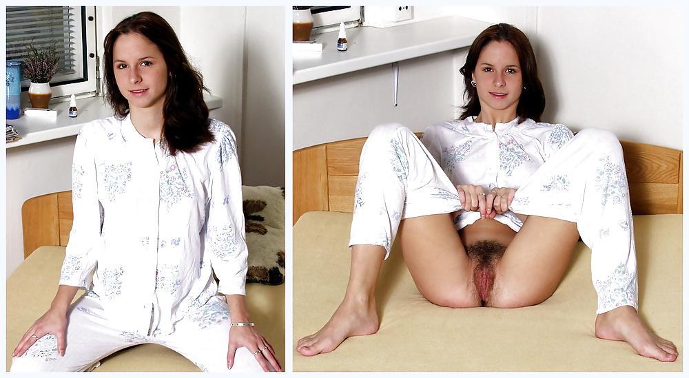 Dressed undressed naked