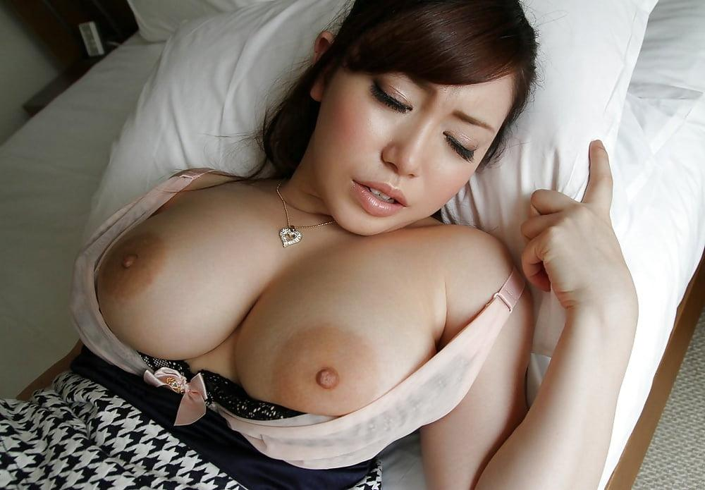 Japanese huge tits wife fucked