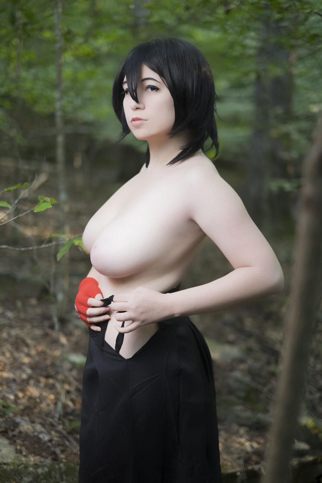 Nude anissa cosplay Babe Today