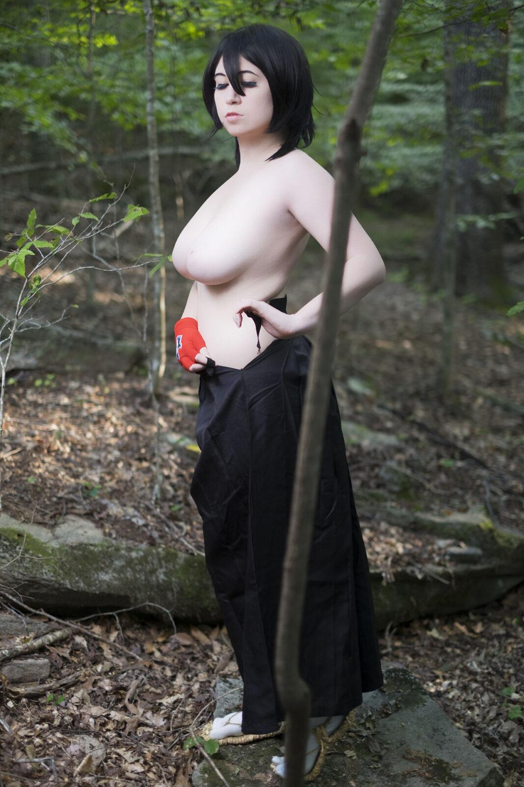 Nude anissa cosplay French Nurse